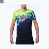 Wholesale Popular Logo Printed Cotton and Polyester Sublimation T Shirt