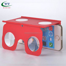 Promotional Foldable VR Glasses With Mobile Phone Stand Virtual Reality 3D Glasses VR Goggles