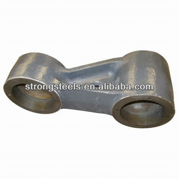 Qingdao die casting process lever of high speed train