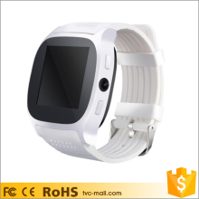 T8 2G Bluetooth Wrist Smart Watch Support Pedometer Camera Shutter for Samsung for iPhone Phone