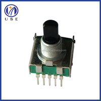 High rotation torque 17mm position current selector rotary switch