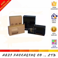 Different style various size wine carrier box for gift packaging