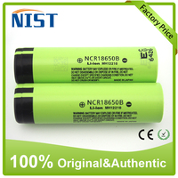 Factory price 100% authentic 3400mAh NCR18650B 3.7V Li-ion battery in Rechargeable Made in Japan