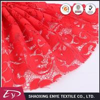 Hot sale Oeko-Tex certified fashionable mesh rose embroidered fabric