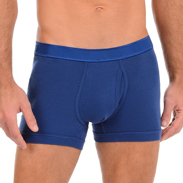 2017 hot plain dyed open crotch underwear mens with good quality