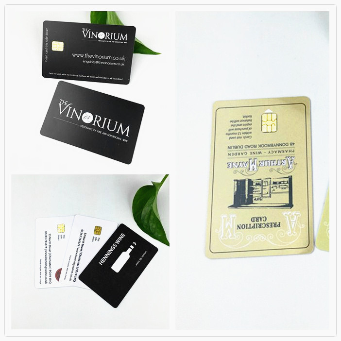 Logo Printed Plastic Gift Cards From China Factory