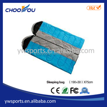 The envelope type can be spliced sleeping bag for double person hiking sleeping bag