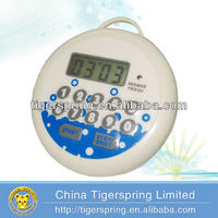 multifunctional waterproof shower timer