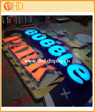 outdoor led light advertising signage/advertsing signs for chain store