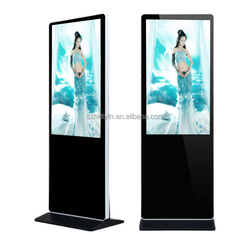 "32""Retail store floor stand lcd advertising player with live Tv"
