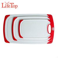 Non Slip Plastic Chopping Boards With