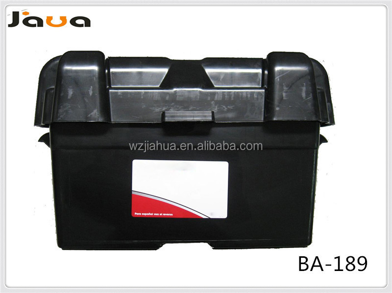 Car Usage Plastic Battery Box With Belt