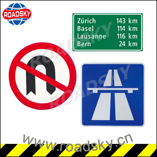 Traffic Reflective Aluminum Road Sign Blanks For Closed Road