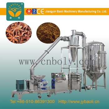 high efficient spices powder making machine/food grinder