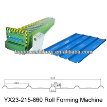Steel sheet roll forming machine with full production line
