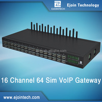 12 Months Warranty!! Ejoin 16 port 16 channel 64 sims gsm gateway gsm modem sim bank voip internet call GoIP 8 / 16 / 32, z-wave