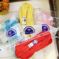 Wholesale 100% cotton sewing embroidery thread 100% cotton DMC color thread 100pcs/bag