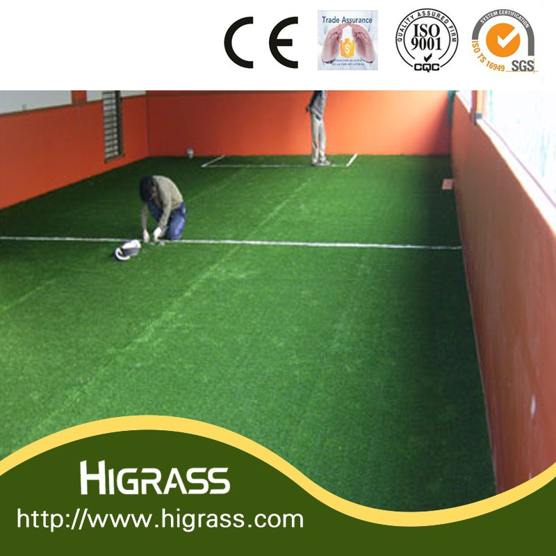 Well Used Child Play Area Mini Football Field Artificial Turf