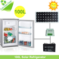 New Arrival Single Door 100L Solar Refrigerator for Home use