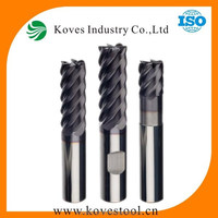 6 flutes carbide end mill cutters carbide end mill for metal working