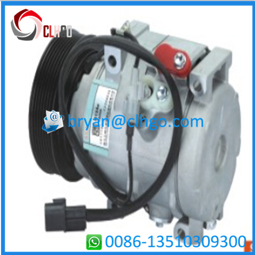 10S17C PV 7 125MM 12V Auto Parts AC Compressor For PAJERO V73