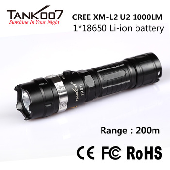 Tambas rechargeable led flashlight waterproof led torch from Tank007
