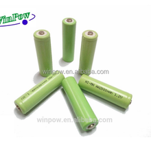 Top Quality Nimh battery aaa 800mah 1.2v ni-mh rechargeable battery