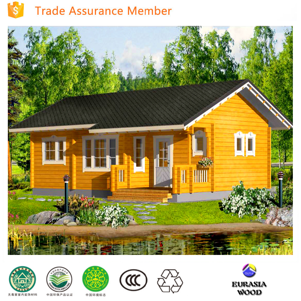 2017 eco friendly prefab wooden cottage prebuilt house prebuilt house home for sale