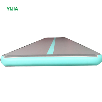 Get $500 conpons cheap gymnastics inflatable tumbleing track air mat for home