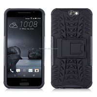 Heavy Duty Tough Shockproof Hybrid Case with Stand for HTC One A9