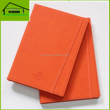 Main product leather notebook with elastic strap