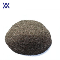 95% Al2O3 abrasive powder aluminium oxide/Brown corundum for polishing media In China