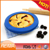 RENJIA silicone pie crust shield what is a pie shield crust shield
