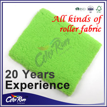 Wholesale Long Pile Green polyester Paint Roller Fabric
