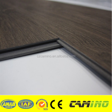 Virgin Material Fibre Glass Luxury commercial Click vinyl flooring