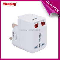 2014 Good Quality Small World Adapter Travel for Mobile Phone