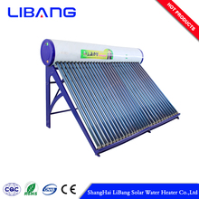 import products solar water heater to mexico