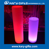 Rechargeable LED Light Colorful Decoration Plastic Columns For Wedding