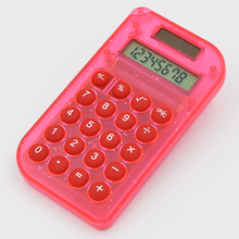 Y-1007 8 digits solar mini pocket calculator