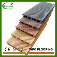 Engineered type synthetic wood outdoor flooring