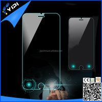 Exclusive design magic touch tempered glass screen protector with smart touch back and confirm buttons