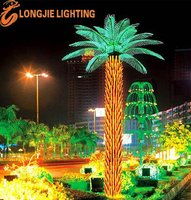 LED light holiday outdoor decorative oil palm tree