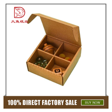 Made in China custom printed design corrugated fancy candy box package