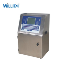Small Character Ink Jet Coding Machine Dot Matrix Mrp Date Code Continuous Inkjet Printer