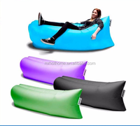Inflatable sofa bed sheets Children lazy folding beach sleeping bag