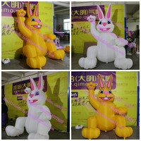 Large inflatable rabbit animal for Party / event decoration C-247