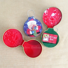 Christmas Decorations Tin Cans