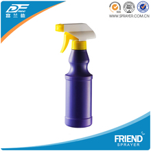 FS-08B5 White Cleaning Spray Bottle/ 300ml Laundry Detergent Liquid Plastic Bottle with Trigger Sprayer