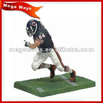 custom collectible resin American football sport figure for gift