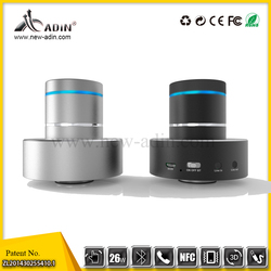 Pure sound wireless adin 26w vibrating mini speaker with package
